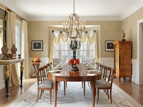 ladue house traditional dining room st louis