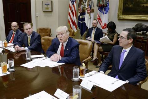 trump white house spending 1 75 million on new furniture donald trump meets with budget advisers no more wasted
