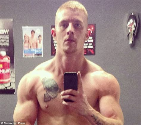 wade cox with tattoo tribute to police killer dale cregan