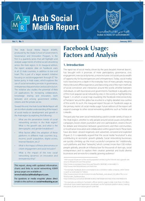social media report sle arab social media report