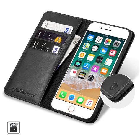 shieldon iphone 6 plus folio genuine leather cover
