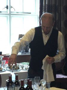 silver service training for butlers | polo & tweed