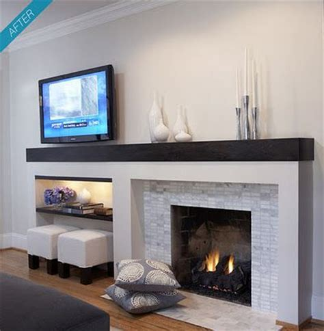 Modern Looking Fireplaces by 17 Best Ideas About Modern Fireplace Decor On
