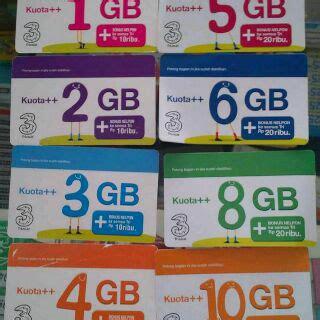 Tri Aon 3gb 10rb By 3store paket murah promo voucer tri murah 1gb 2gb