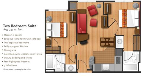 residence inn studio suite floor plan hotel brand reviews extended stayer blog