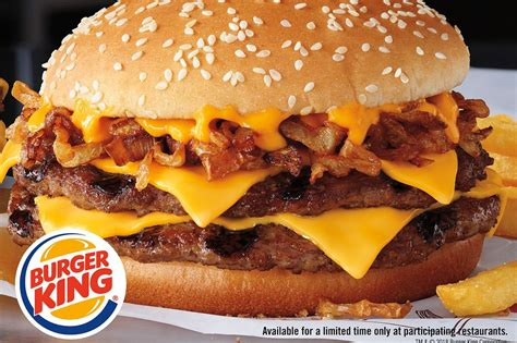 burger king launches philly cheesesteak burger � with a