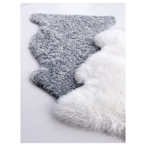 sheepskin ikea ludde sheepskin grey ikea