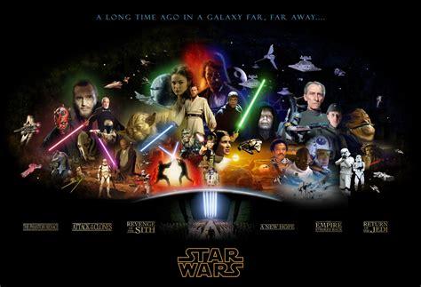 saga of the sw star wars complete saga poster star wars fan art 425795 fanpop