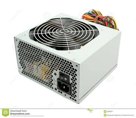 computer power supply fan computer power supply with fan royalty free stock