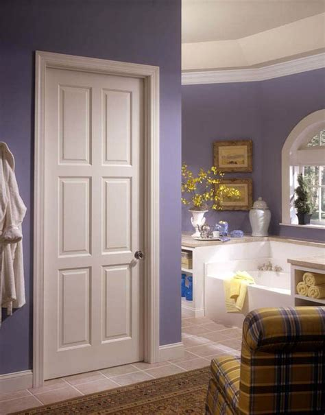 white bedroom door european style wood door design with door leaf