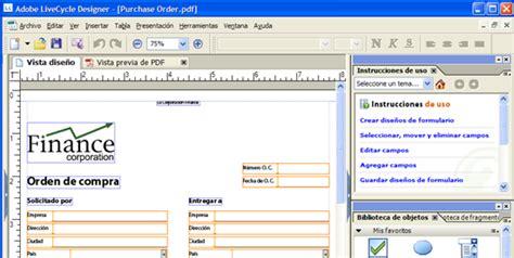 xml livecycle tutorial los formularios pdf no son para imprimirlos 7