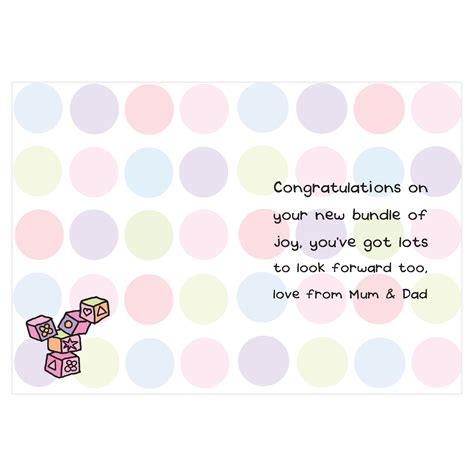 Gift Card Sayings - quotes for new baby cards quotesgram