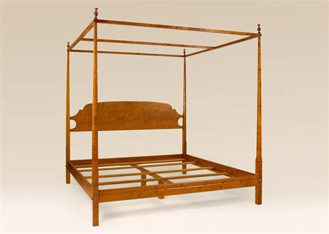 pencil bed shaker pencil post bed plans woodworking projects plans