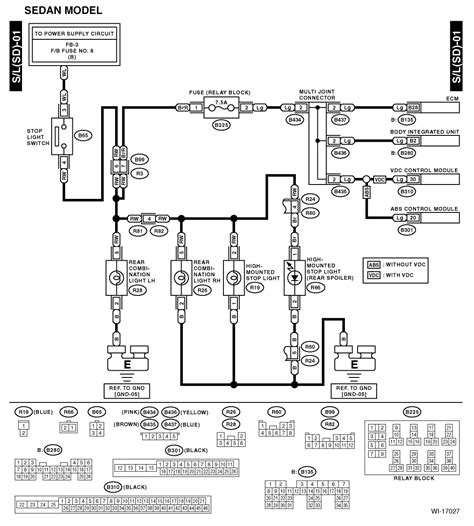 wiring diagrams for subaru diagrams free