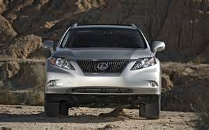 Lexus Rx350 Vs Audi Q5 2010 Lexus Rx 350 Awd Front End Photo 18