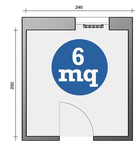 bagno 6 mq bagno con pianta progetto e costi dei lavori prima
