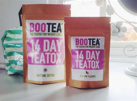 Bootea 14 Day Detox Weight Loss by Lyfe Tea Teatox Reviews Lose Weight Tips