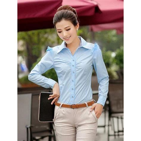 Jumpsuit Panjang Baju Branded Wanita Bom Fash kemeja kerja wanita lengan panjang t1508 moro fashion