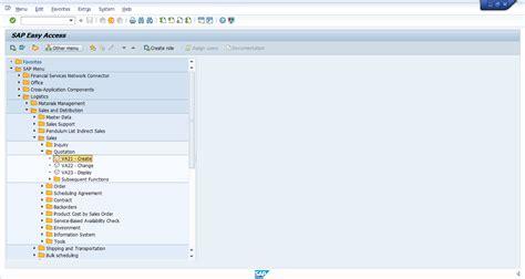 sap va21 tutorial how to create sap sd quotation free sap sd training
