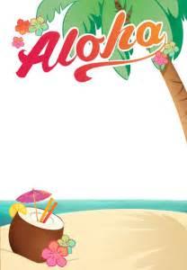 Hawaiian Menu Template by 25 Best Ideas About Luau Invitations On