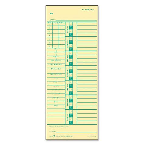 Printable Time Card Template by Printable Time Cards Downloads Printable Time Cards Ckz
