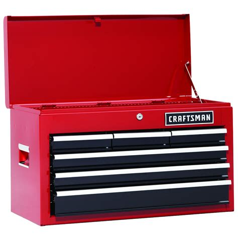 6 drawer tool box craftsman 113606 26 in 6 drawer heavy duty ball