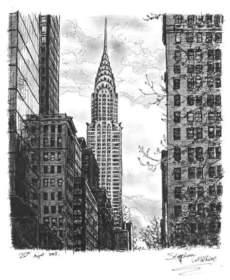 Chrysler Building Drawing by 25 Best Ideas About Building Drawing On