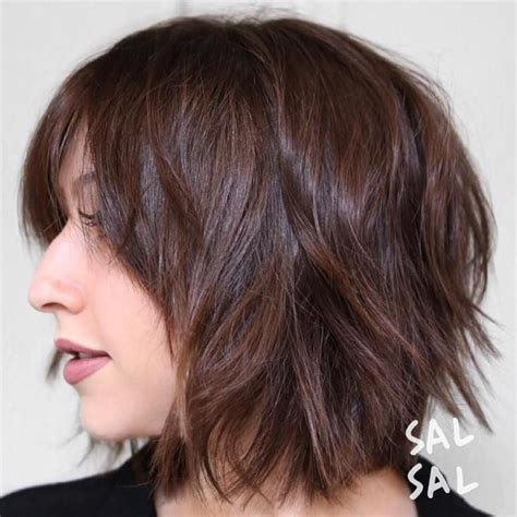 shag hair style dimental color best 25 shattered bob ideas only on pinterest loose