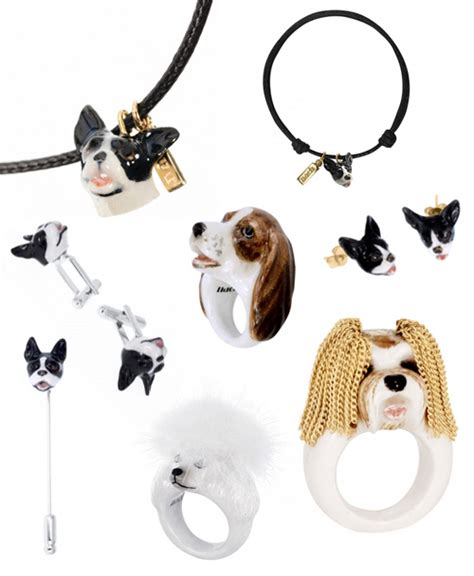 puppy necklace nach bijoux porcelain jewelry milk