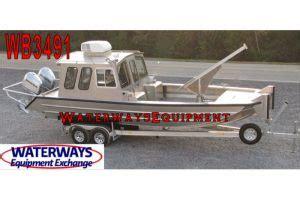 rear cabin boats aluminum hull boats waterways equipment