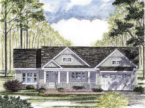 Ranch Bungalow House Plans by Cottage Craftsman Ranch House Plan 94182