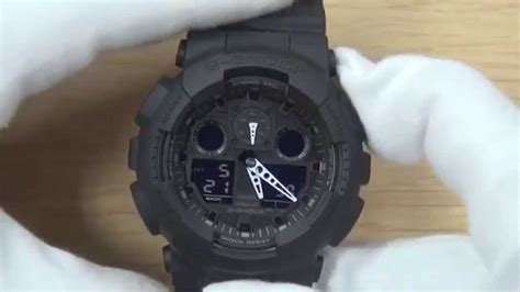 Jam Tangan Black Channel cara setting jam tangan g shock ga100 original
