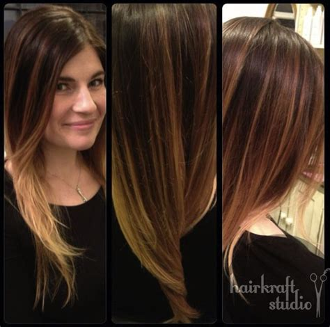 photos of blonde highlights with dark roots ombre balayage brown to blonde dark roots rich brown