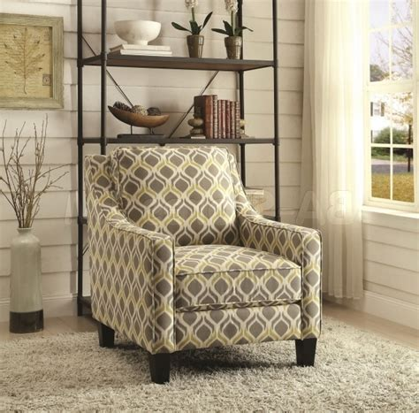 Yellow And Gray Accent Chair Grey And Yellow Accent Chair Chair Design
