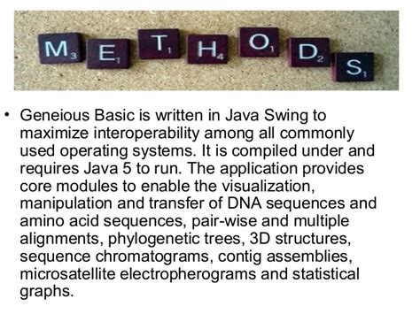 advantages of swing in java geneious