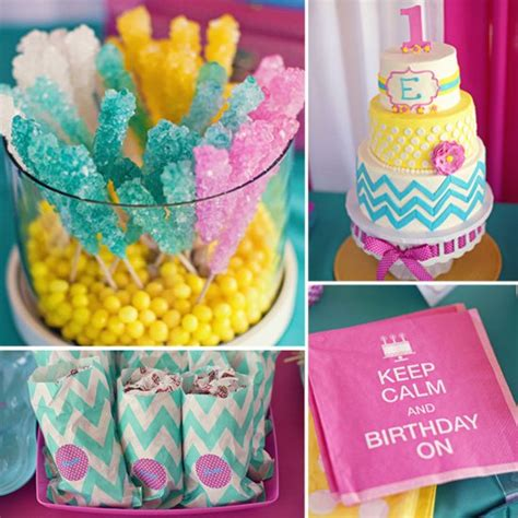 best birthday party ideas for girls popsugar moms a bold candy colored first birthday party best birthday