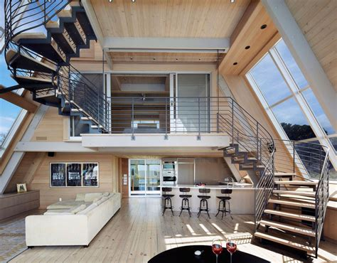 modern a frame house plans three storey a frame vacation beach house idesignarch