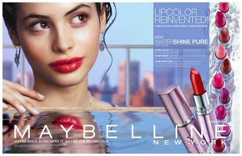 Maybelline Watershine Lipstick related keywords suggestions for maybelline advert