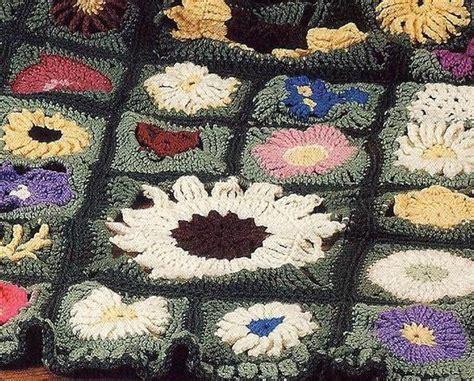 field of flowers crochet rug pattern award winning field of flowers crochet afghan pattern afghans