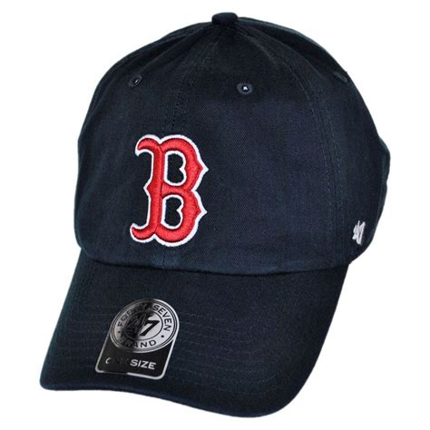 47 brand boston sox mlb clean up strapback child