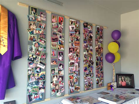 photo board ideas awesome graduation photo display magnet boards photos