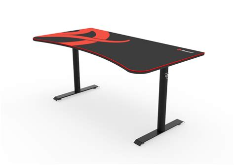 Black Gaming Desk Arena Gaming Desk Black Arozzi