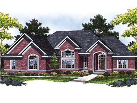 brick ranch home plans fair hollow brick ranch home plan 051d 0465 house plans