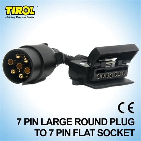 tirol t21579a 7 pin connector trailer boat truck car