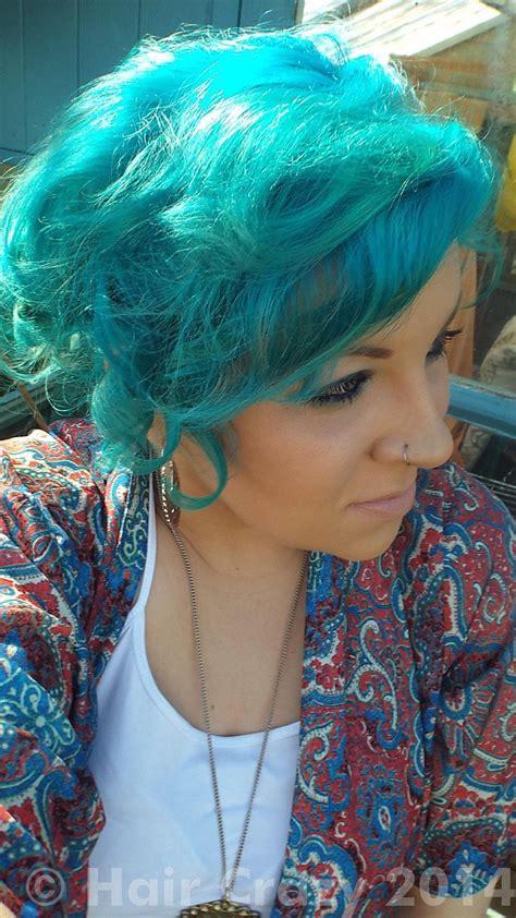 aquamarine hair color buy adore aquamarine adore hair dye haircrazy