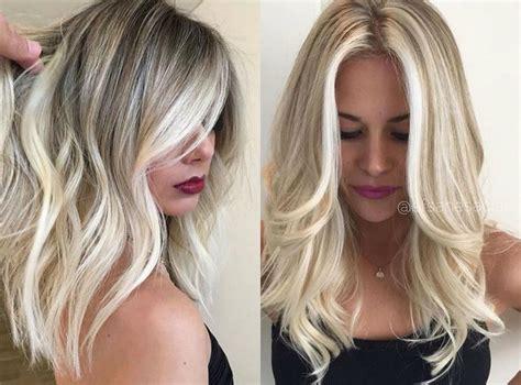 Medium Long Blonde Hairstyle Women Phenomenal Hairstyles