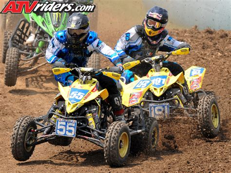 pro motocross racers 2008 ama pro atv national motocross series muddy creek