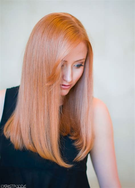 strawberry blonde hair color formula formulas rose gold peach rose chocolate strawberry