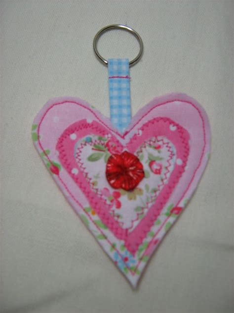 Handmade Fabric Keyrings - the 41 best images about fabric keyrings on