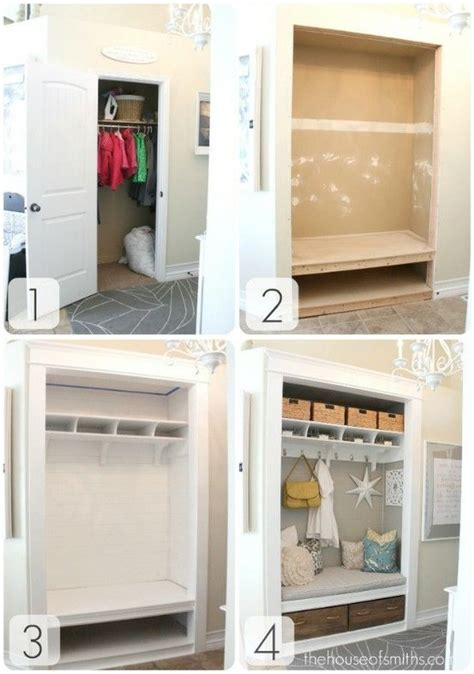 Closet Makeovers by Small Closet Makeover For The Home